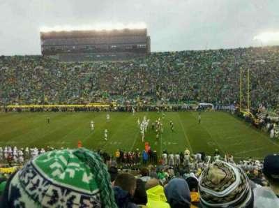 Notre Dame Stadium secção 7