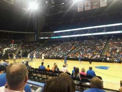 Jacksonville Veterans Memorial Arena, secção: 102, fila: C, lugar: 11