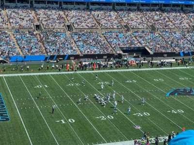 Bank of America Stadium secção 546