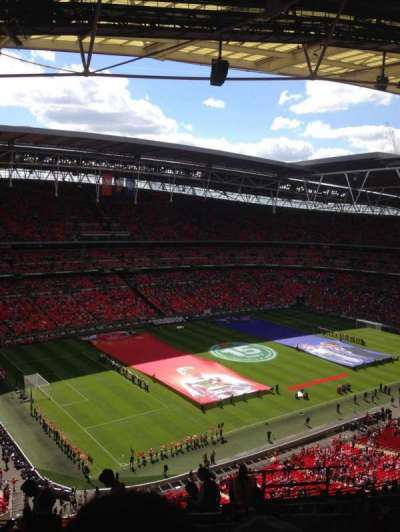 Wembley Stadium, secção: 506, fila: 20, lugar: 174