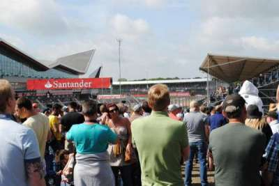 Silverstone Circuit, secção: General Admission