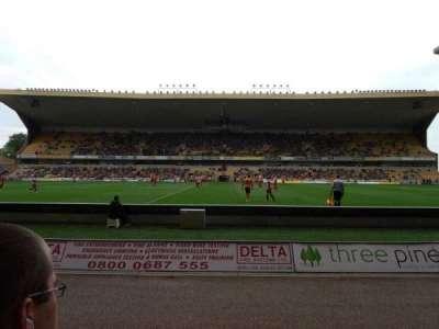 Molineux Stadium, secção: JL5, fila: B, lugar: 140