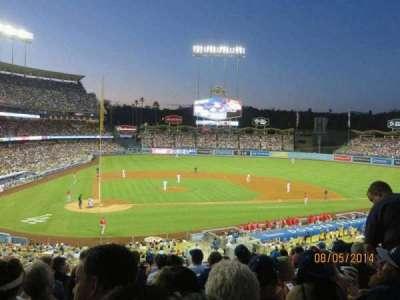 Dodger Stadium secção 120LG