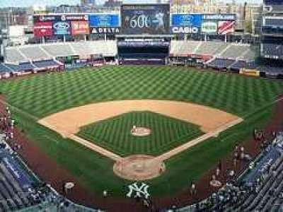 Yankee Stadium secção Upper Deck