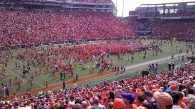 Memorial Stadium, Clemson secção K