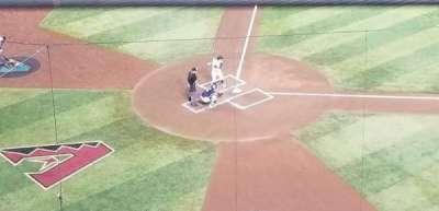 Chase Field, secção: 312, fila: 1, lugar: 1