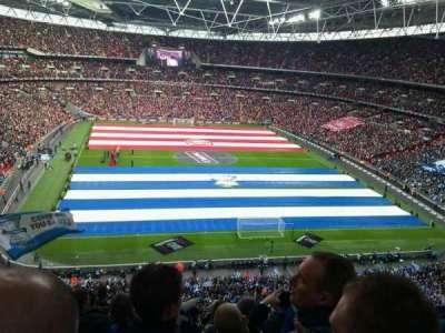Wembley Stadium secção 541
