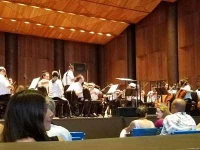 The Mann secção Orchestra Left