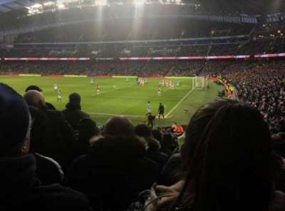 Etihad Stadium (Manchester) secção 121