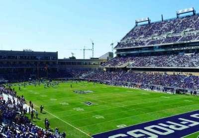 Amon G. Carter Stadium, secção: 228, fila: B, lugar: 101