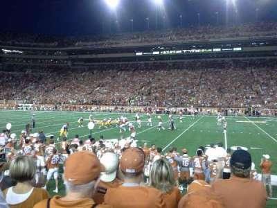 Texas Memorial Stadium, secção: 4, fila: 5