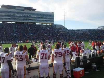 University of Kansas Memorial Stadium, secção: 22, fila: 1
