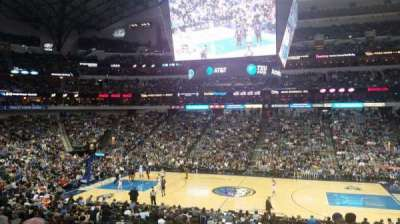 American Airlines Center, secção: 118, fila: Y, lugar: 6
