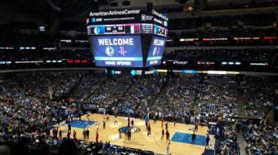 American Airlines Center, secção: 216, fila: F, lugar: 5