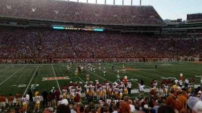 Texas Memorial Stadium, secção: 30, fila: 14, lugar: 9