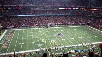 Georgia Dome, secção: 350, fila: 11, lugar: 14