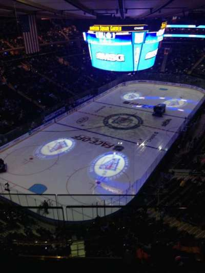 Madison Square Garden secção 321