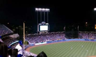 Dodger Stadium secção 11