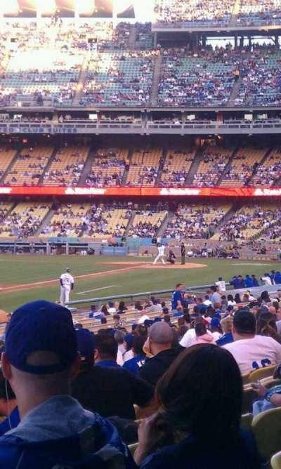 Dodger Stadium secção 43fd