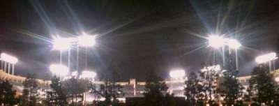 Dodger Stadium secção From the lot