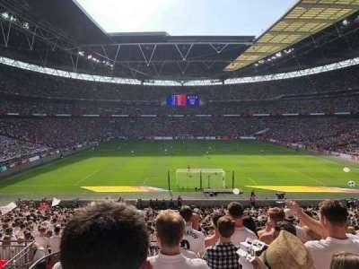 Wembley Stadium secção 112