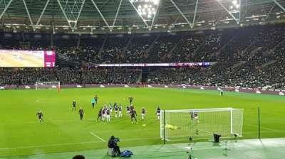 London Road Stadium, secção: 119, fila: 23, lugar: 64