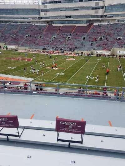 Lane Stadium, secção: 3, fila: LL, lugar: 13