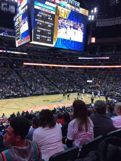 Pepsi Center secção 104