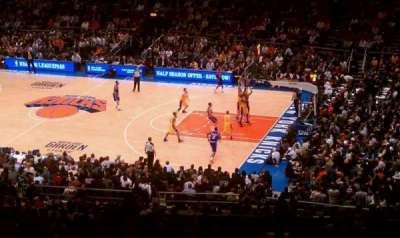 Madison Square Garden secção 403
