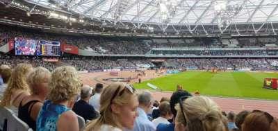 London Stadium secção 133