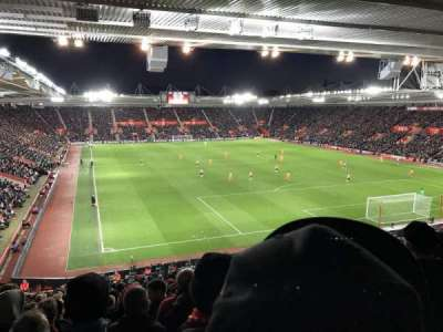 St Mary's Stadium secção Away Section Block 46