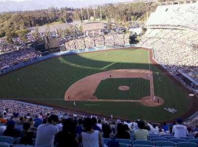 Dodger Stadium secção 11TD