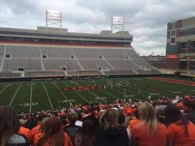 Boone Pickens Stadium, secção: 207, fila: 27, lugar: 11