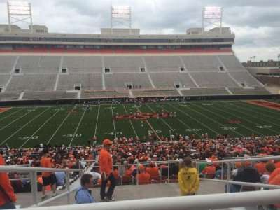Boone Pickens Stadium, secção: 306, fila: 10, lugar: 22