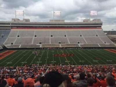 Boone Pickens Stadium, secção: 306, fila: 22, lugar: 20