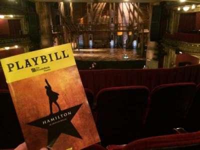 PrivateBank Theatre, secção: Dress Circle RC, fila: C, lugar: 230
