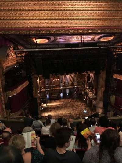PrivateBank Theatre, secção: Balcony LC, fila: G, lugar: 417