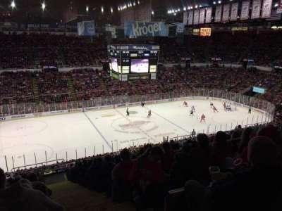 Joe Louis Arena secção 224