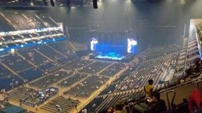 The O2 Arena, secção: 415, fila: J, lugar: 813