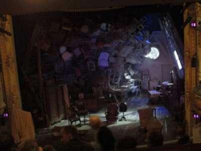 Wyndham's Theatre, secção: Royal Circle, fila: G, lugar: 13