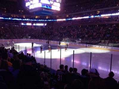 Nationwide Arena, secção: 101, fila: M, lugar: 7