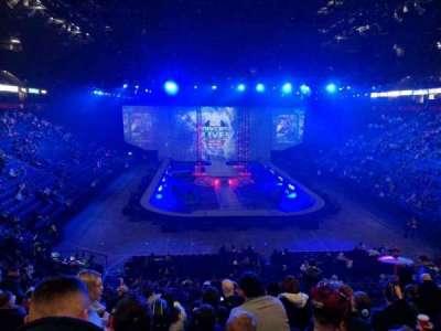 Manchester Arena, secção: 108, fila: X, lugar: 15