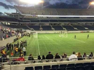 Camping World Stadium, secção: 113, fila: K, lugar: 12