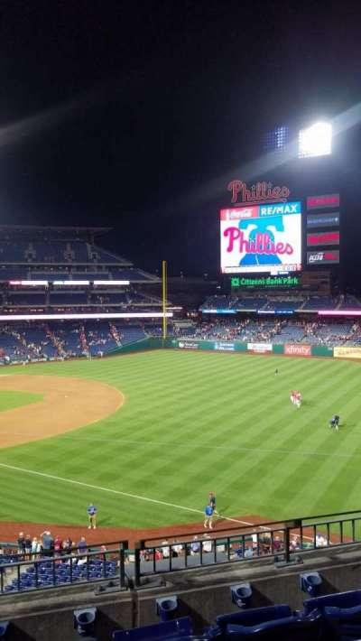 Citizens Bank Park secção 209