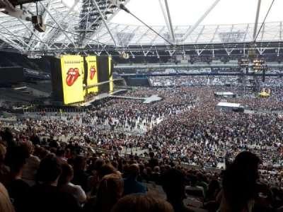 London Stadium secção 235