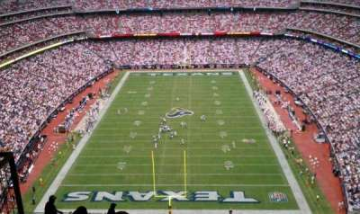NRG Stadium secção 723