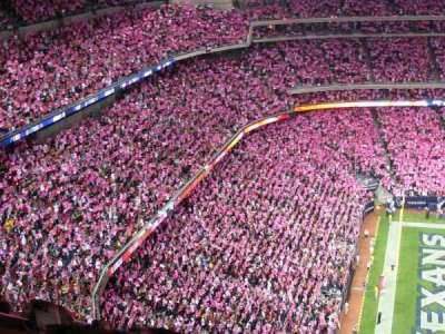 NRG Stadium secção 612