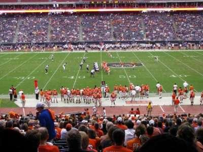 NRG Stadium secção 107A