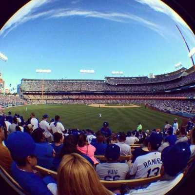 Dodger Stadium secção 303PL