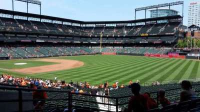 Oriole Park at Camden Yards, secção: 9